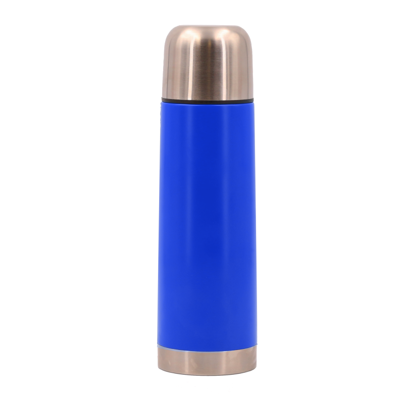 bouteille isotherme avec bol blue Thermos